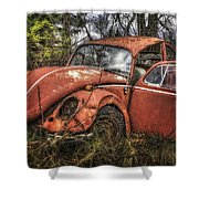 Old Vw Shower Curtain