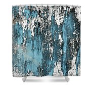 Old Wall Shower Curtain