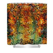 Old Wall By Rafi Talby Shower Curtain