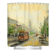 Old Warsaw - Poland Shower Curtain