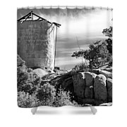 Old Water Tower Shower Curtain