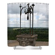 Old Well Chateau Chaumont Shower Curtain