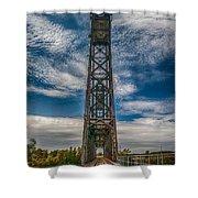 Old Welland Lift Bridge 3d07057hp Shower Curtain