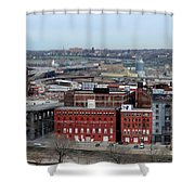 Old West Bottoms Kcmo Shower Curtain