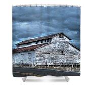 Old White Barn Shower Curtain