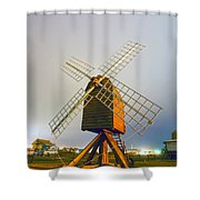 Old Wind Mill Shower Curtain