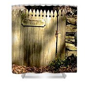 Old Windways Farm Shower Curtain
