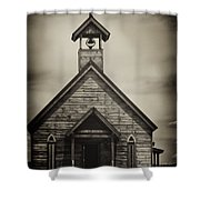 Old Wooden Sanctuary Shower Curtain