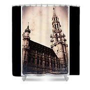 Old World Grand Place Shower Curtain