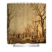Old World Vision Shower Curtain
