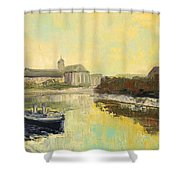 Old Wroclaw - Poland Shower Curtain