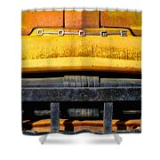 Old Yellow By Diana Sainz Shower Curtain