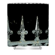 Olde Fence Shower Curtain