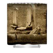 Olde Graves Shower Curtain
