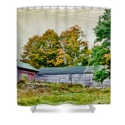 Olde Homestead On Rt 105 Shower Curtain
