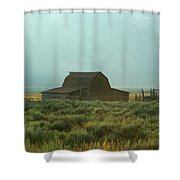 Oldest Barn In The Country Shower Curtain