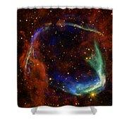 Oldest Recorded Supernova Shower Curtain