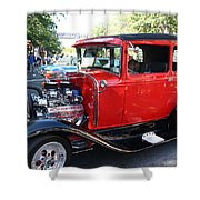 Oldie But Goodie - Classic Antique Car Shower Curtain