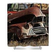 Oldsmobile 40s Shower Curtain