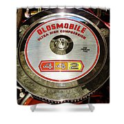 Oldsmobile 442 Shower Curtain