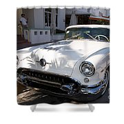Oldsmobile Shower Curtain