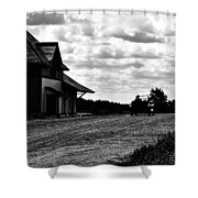 Oldtime Drive  Shower Curtain