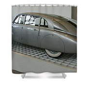 Oldtimer Tatra T87 Shower Curtain