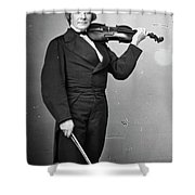 Ole Bornemann Bull (1810-1880) Shower Curtain