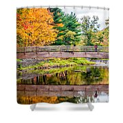 Ole Bull State Park Shower Curtain