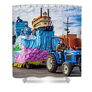 Ole Man River Shower Curtain