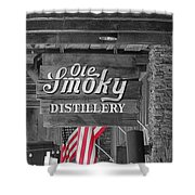 Ole Smoky Distillery Shower Curtain by Dan Sproul