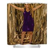Olga 1 Shower Curtain
