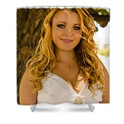 Olga 6 Shower Curtain