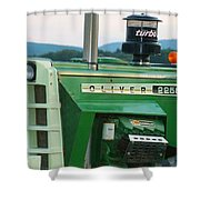 Oliver 2255 Tractor Shower Curtain
