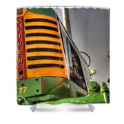 Oliver Tractor Shower Curtain