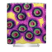 Olives Shower Curtain by Daina White
