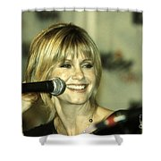 Olivia Newton John Shower Curtain