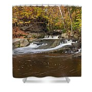 Olmstead Falls Shower Curtain