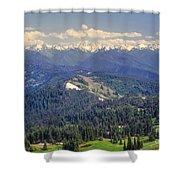 Olympic National Park Landscape Shower Curtain