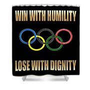Olympic Spirit Shower Curtain