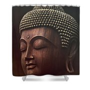 Om Mani Padme Hum  - Buddha Shower Curtain