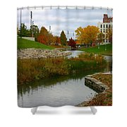 Omaha In Color Shower Curtain