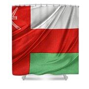 Oman Flag Shower Curtain
