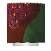 Ominous Charade Shower Curtain