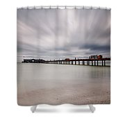 On A Stormy Day Shower Curtain
