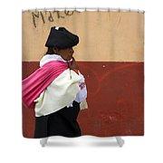 On An Errand In Otavalo Shower Curtain