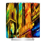 On Broadway Shower Curtain