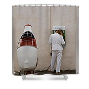 Painter On Call Shower Curtain