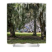 On Destrehan Plantation Shower Curtain