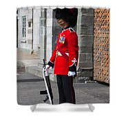 On Guard Quebec City Shower Curtain